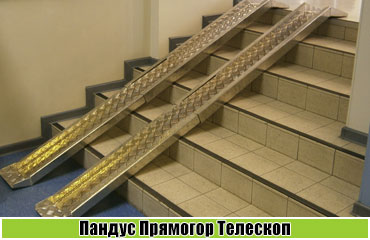 Телескопический пандус Прямогор Телескоп ПТЛ