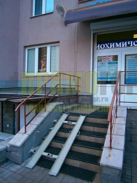 Прямогор Компакт ПК-1650П, складной пандус