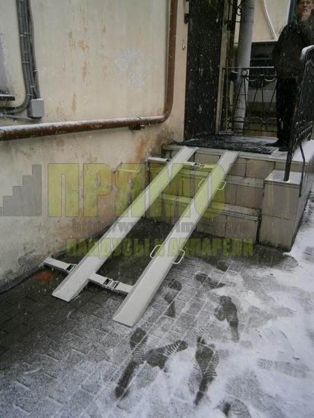 Прямогор Компакт ПК-2250П, складной пандус