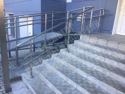 стационарный пандус на лестницу