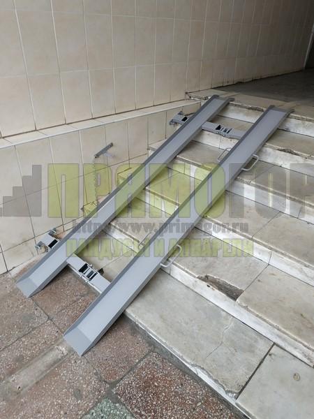 Прямогор Компакт ПК-2060П, складной пандус