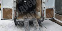 Рампа для заезда в фургон