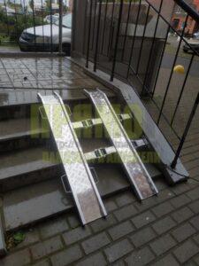 Прямогор Компакт Лайт ПКЛ-1130Л, складной пандус