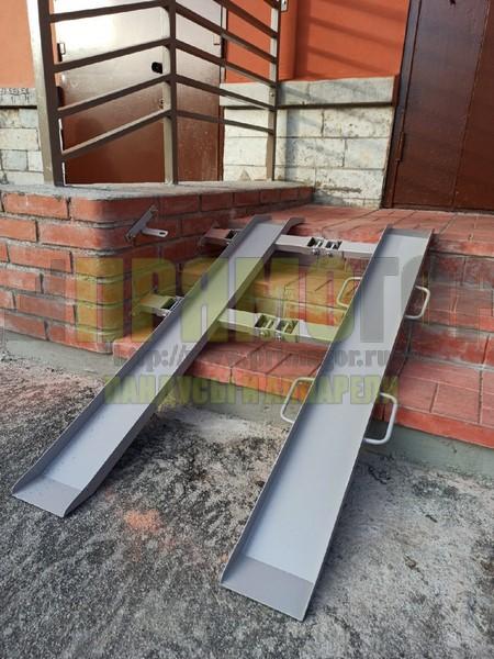 Прямогор Компакт ПК 1215П, складной пандус