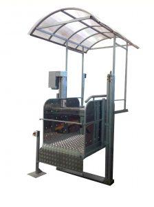 Вертикальная подъемная платформа с винтовым приводом