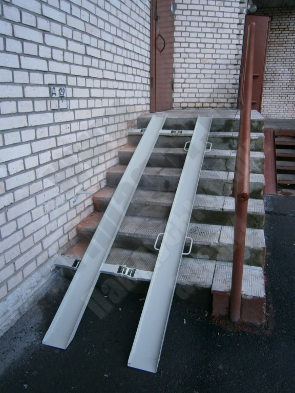 Прямогор Компакт ПК-2500П, складной пандус