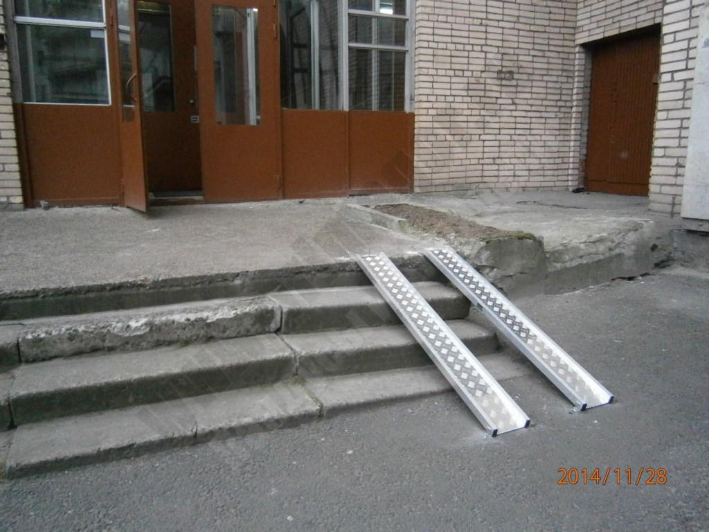 Прямогор Лайт ПЛ-1500, мобильный пандус