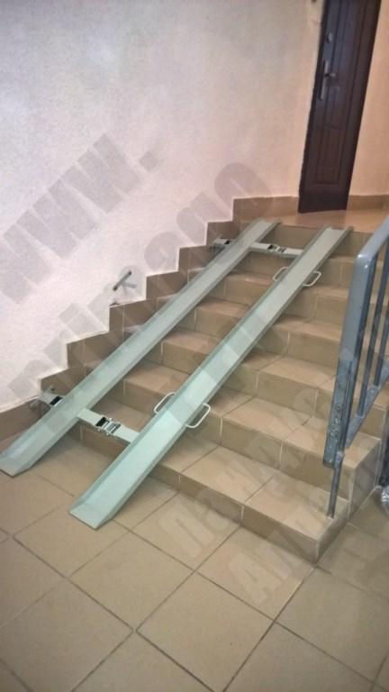 Прямогор Компакт ПК-2300Л, складной пандус