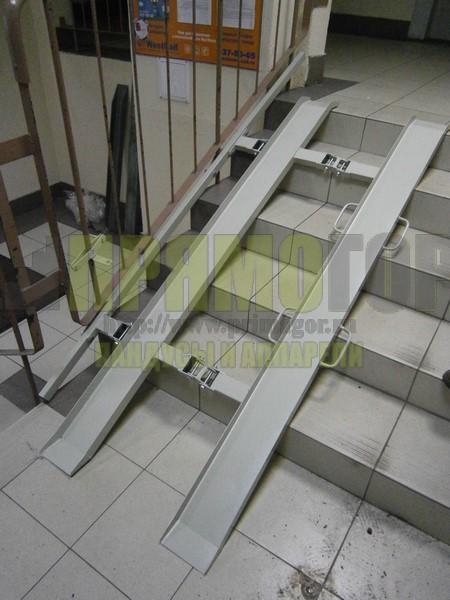 Прямогор Компакт ПК-1750П-П, складной пандус