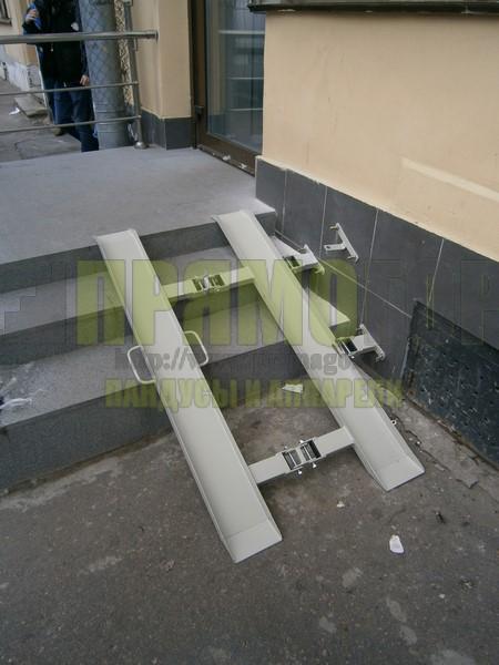 Прямогор Компакт ПК-1185Л, складной пандус