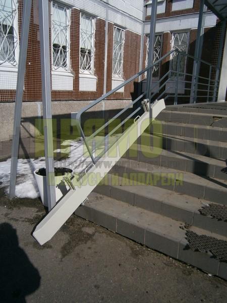 Прямогор Компакт ПК-2395П-П, складной пандус